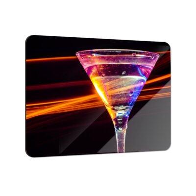 Klebefieber Martini im Lichtstrahl Coaster Set