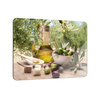 Klebefieber Mediterraner Oliventraum Coaster Set