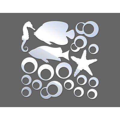 Klebefieber Fish Designer Mirror Set
