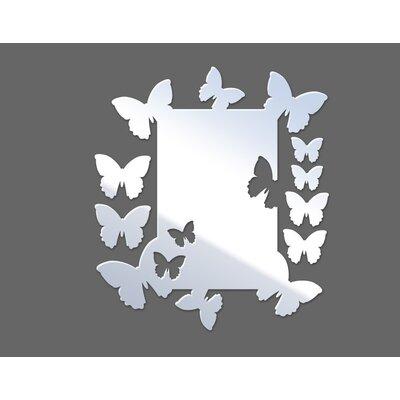 Klebefieber Fliegende Schmetterlinge Mirror Design