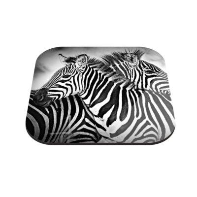 Klebefieber Verliebte Zebras Coaster Set