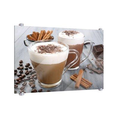 Klebefieber Latte Macchiato und Chococino Glass Art