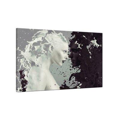 Klebefieber Milch und Kaffee Photographic Print on Canvas