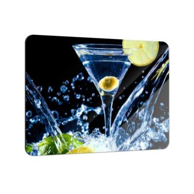 Klebefieber Spritziger Martini Coaster Set