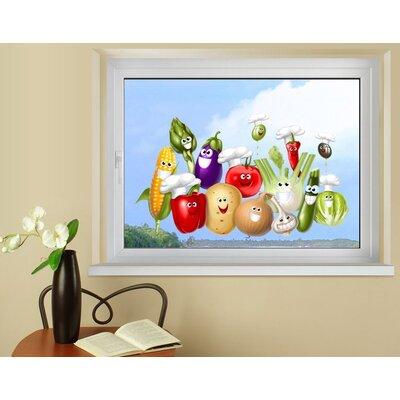 Klebefieber Freches Gemüse Window Sticker