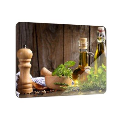 Klebefieber Stillleben Kräuter und Öle Coaster Set