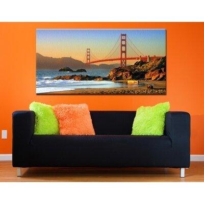 Klebefieber San Francisco Photographic Print on Canvas