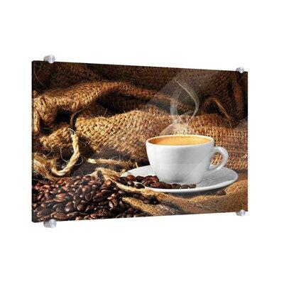 Klebefieber Kaffeeduft Glass Art