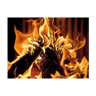 Klebefieber Wärmende Feuerstelle Glass Art
