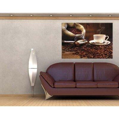Klebefieber Sack mit Kaffeebohnen Photographic Print on Canvas