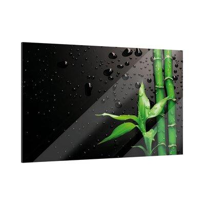 Klebefieber Bambus Glass Art