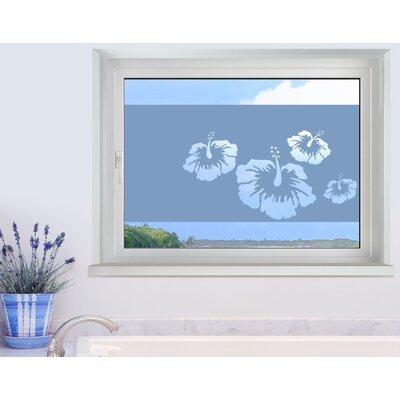 Klebefieber Hibiskus Window Sticker