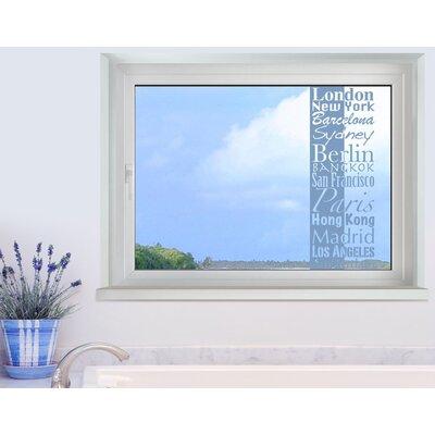 Klebefieber Städte Window Sticker