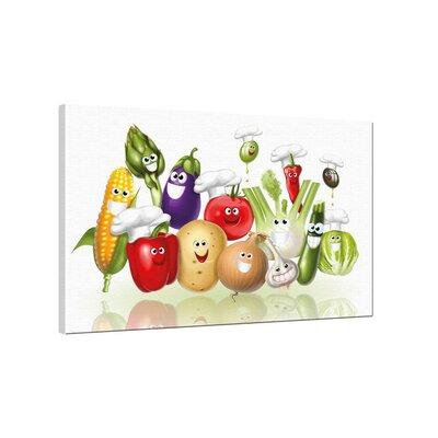 Klebefieber Freches Gemüse Photographic Print on Canvas