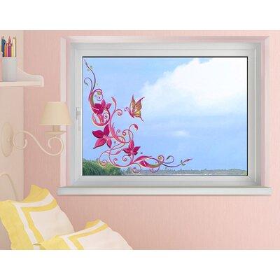 Klebefieber Filigrane Blüten Window Sticker