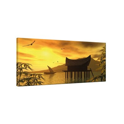 Klebefieber China Photographic Print on Canvas