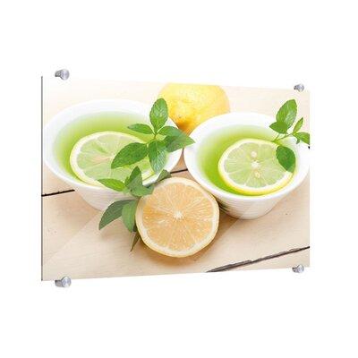 Klebefieber Frischer Tee Glass Art
