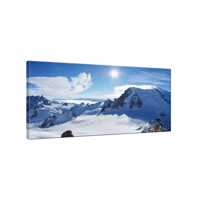 Klebefieber Mont Blanc Photographic Print on Canvas