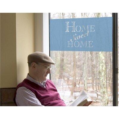 Klebefieber Home Sweet Home Window Sticker