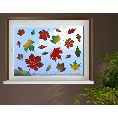 Klebefieber Autumn Leaves Window Sticker