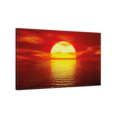 Klebefieber Sunset Photographic Print on Canvas