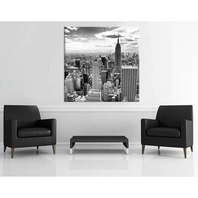 Klebefieber New York City Schwarz-Weiß Photographic Print on Canvas
