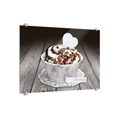 Klebefieber Cupcake Love Glass Art