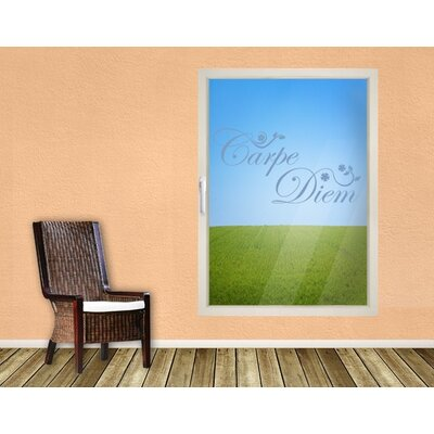 Klebefieber Carpe Diem Window Sticker