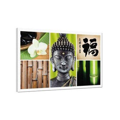 Klebefieber Buddha, Bamboo, Zen Photographic Print on Canvas