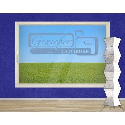 Klebefieber Genießer Lounge Window Sticker