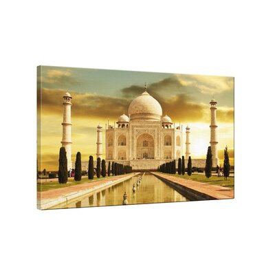 Klebefieber Taj Mahal Photographic Print on Canvas