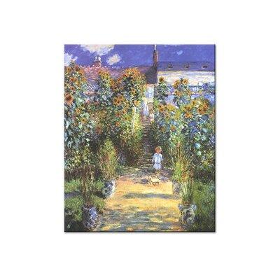 Klebefieber Monet Garden Photographic Print on Canvas
