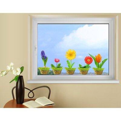 Klebefieber Frühlingsblumen Window Sticker