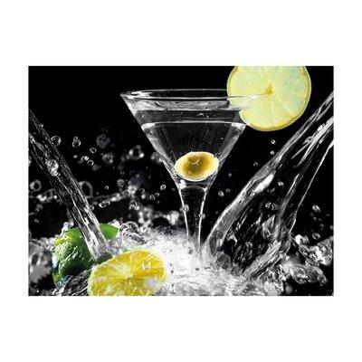 Klebefieber Spritziger Martini Glass Art