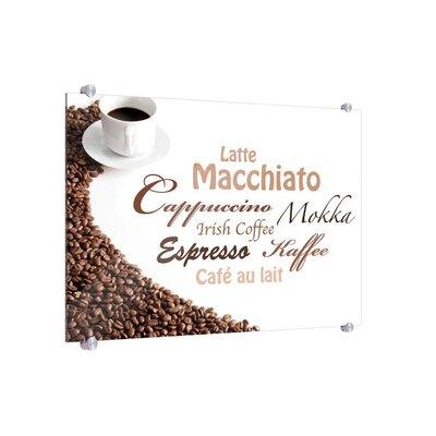 Klebefieber Aromatische Kaffeevariationen Glass Art