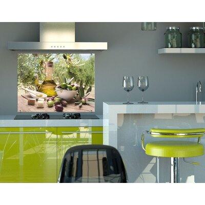 Klebefieber Mediterranes Olivenöl Glass Art