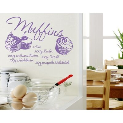 Klebefieber Muffins Wall Sticker
