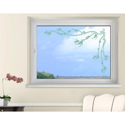 Klebefieber Blumenranke Window Sticker