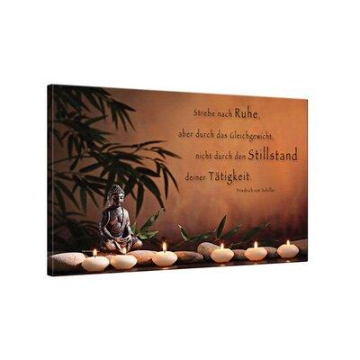 Klebefieber Ruhe und Gleichgewicht Photographic Print on Canvas