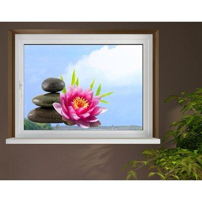 Klebefieber Lotusblüte Window Sticker