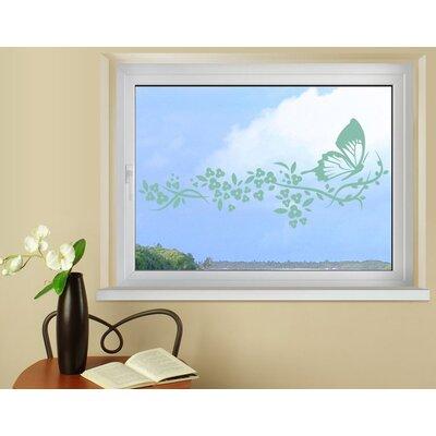 Klebefieber Schmetterlingsflug Window Sticker