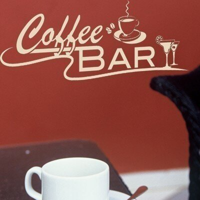 Klebefieber Coffee-Bar Wall Sticker