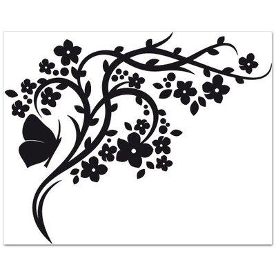 Klebefieber Blütenast Wall Sticker
