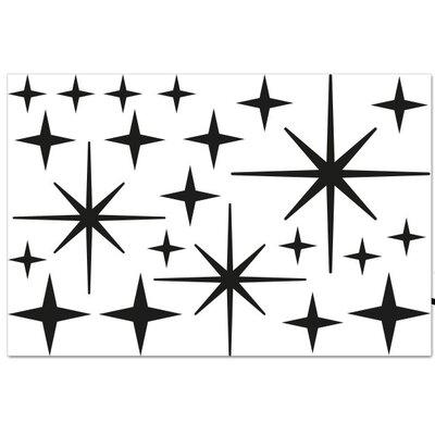 Klebefieber Sterne Supplementary Wall Sticker Set