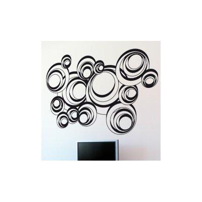 Klebefieber Retro-Kreise Wall Sticker