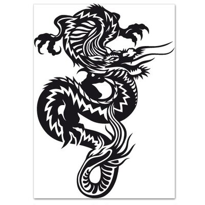 Klebefieber Grosser Drache Wall Sticker