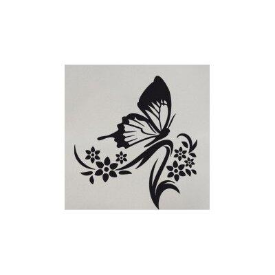 Klebefieber Schmetterlingszweig Wall Sticker