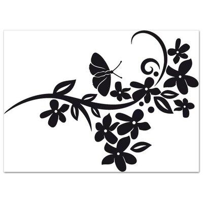 Klebefieber Blumenschwung Wall Sticker