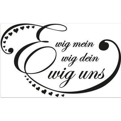 Klebefieber Ewig Uns Wall Sticker