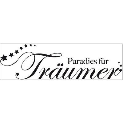 Klebefieber Paradies für Träumer Wall Sticker